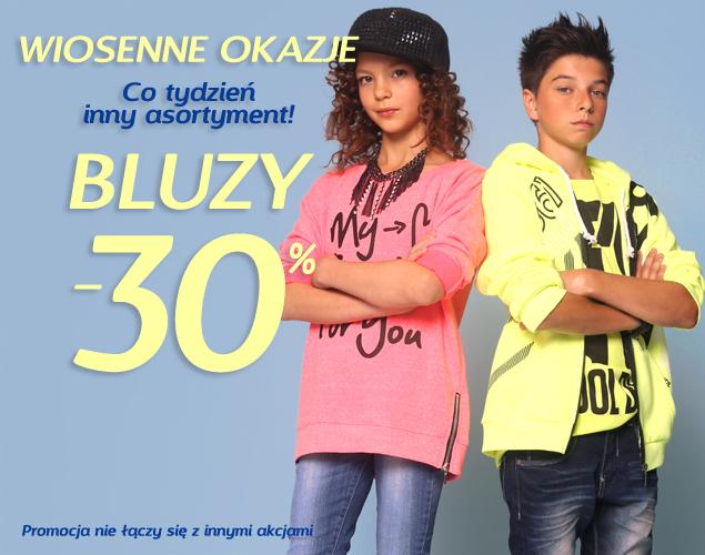 Rabat 30% na wszystkie bluzy @ Reporter Young