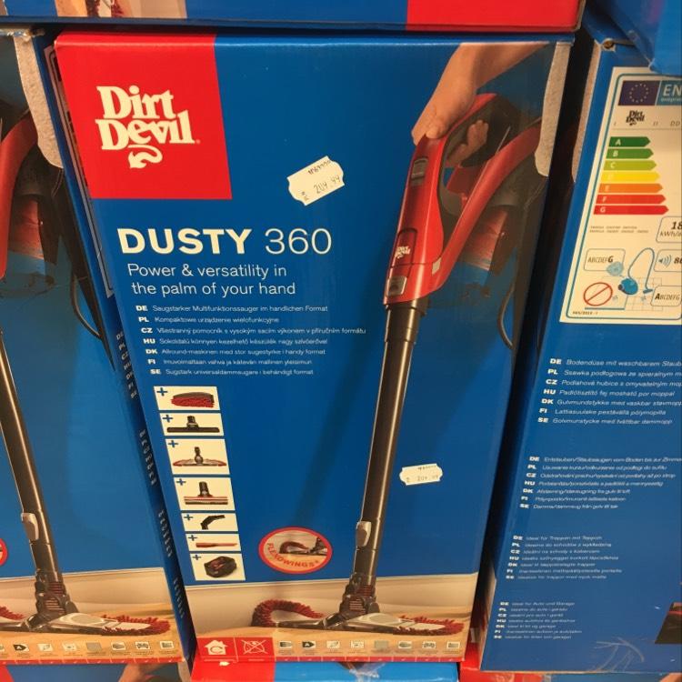 Odkurzacz ręczny 5w1 Dirt Devil Dusty 360 DD-1400 (Kik)
