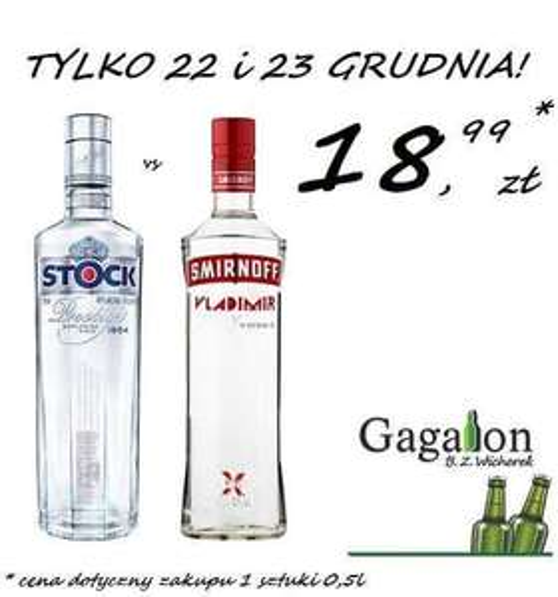 Stock i Smirnoff 0.5 @Gagalon