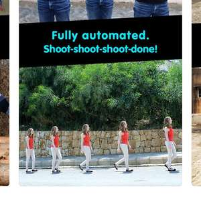Klonowanie postaci na zdjęciach DMD Clone — Dermandar na iOS
