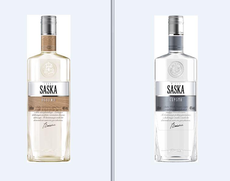 Wódka czysta lub dębowa 0,5 l 40% -Tesco