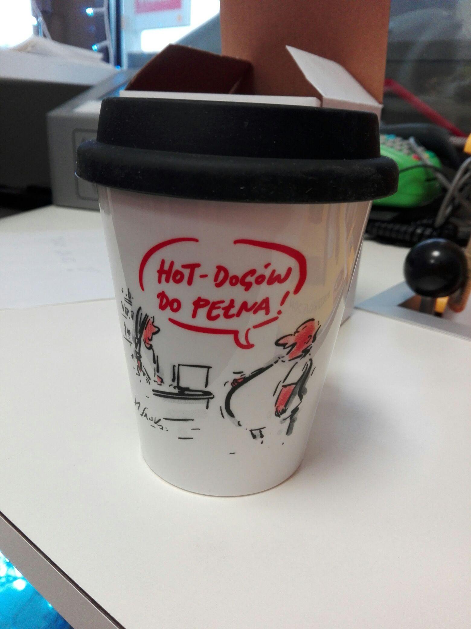 Kubek do każdej kawy na stacji Shell (Olsztyn)