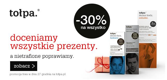 Tołpa -30% na wszystko