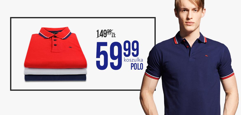 Koszulki POLO w cenie 59,99zł @ Pako Lorente