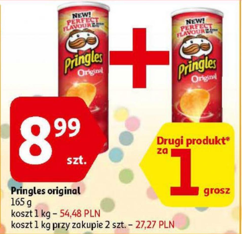 Pringles Original 1+1 za grosz