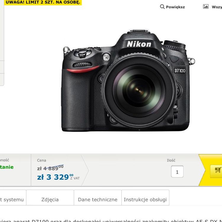 Nikon D7100 + AF-S DX 18-105 MM VR