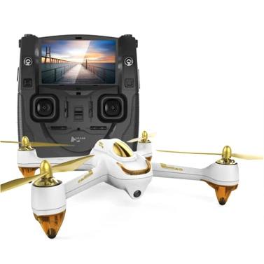 Dron Hubsan H501S X4 za ~633zł z wysyłką z Niemiec (kamera, gps, silniki bezszczotkowe, aparatura w zestawie) @ Tomtop