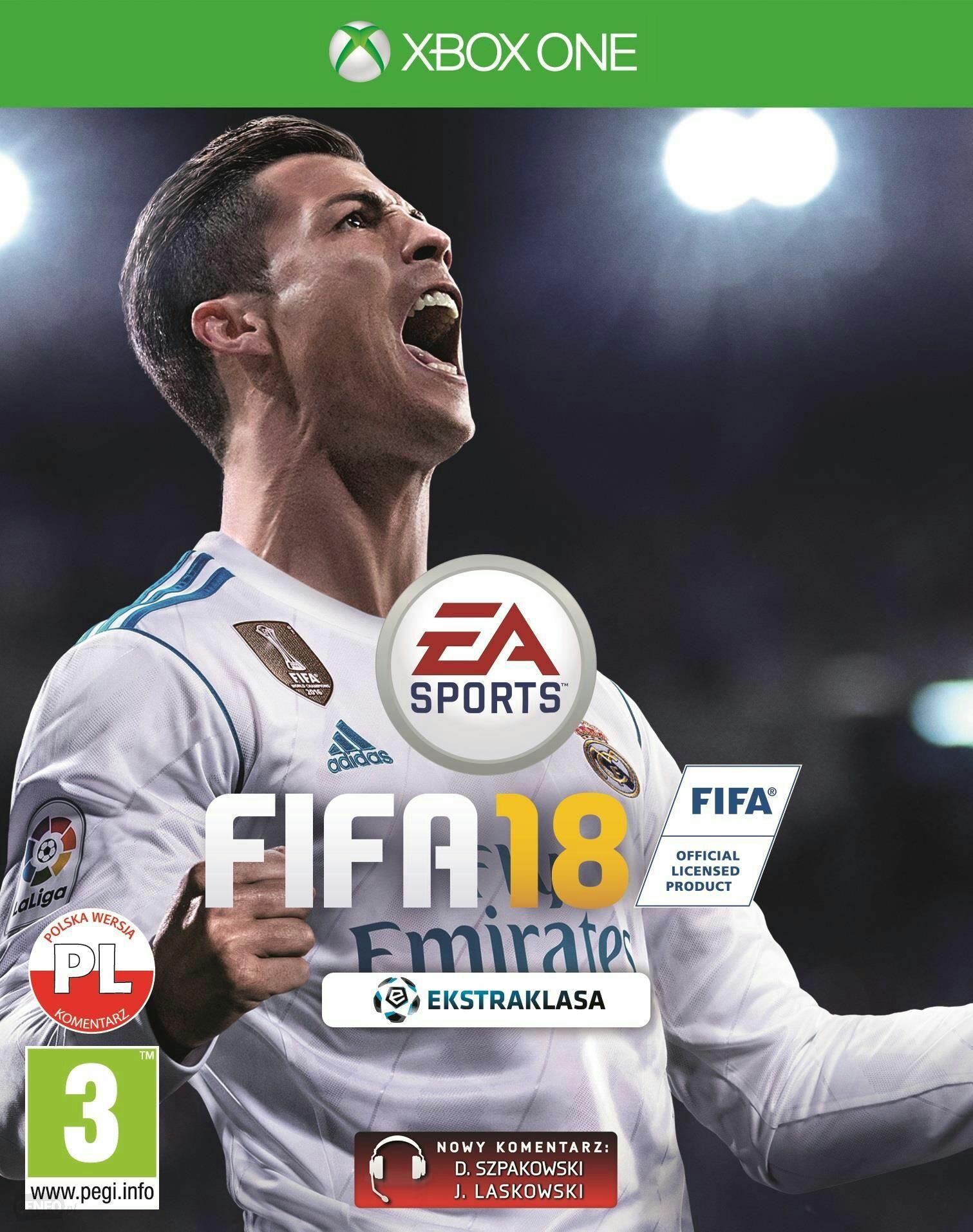 FIFA 18 z Goldem za 80 zł na Xbox One