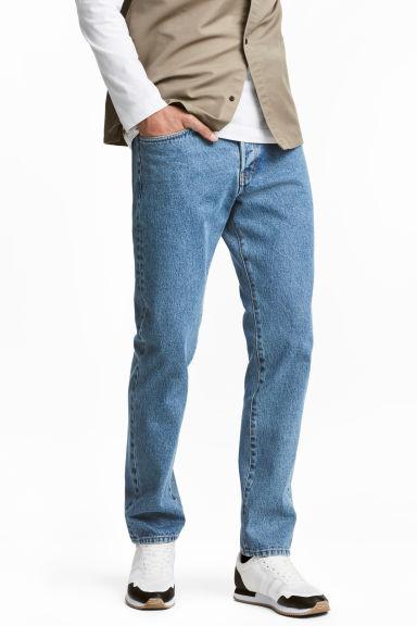 Męskie dżinsy straight za 77,90zł (możliwe 70,11zł; 3 modele) @ H&M