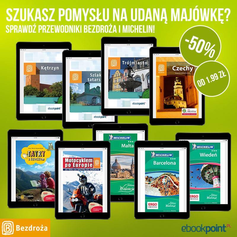Wszystkie przewodniki (eBook) -50% @ Bezdroża