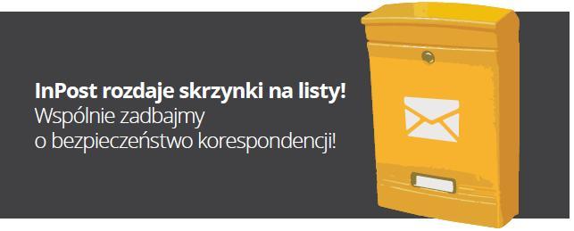 5 tys. darmowych skrzynek na listy @ InPost