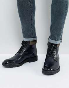 Base London Bosworth Leather Brogue Chelsea Buty i Panzer buty @ Asos (€43.24)