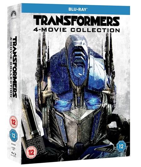 Kolekcja Transformers (4 filmy) na Blu-Ray @ Zoom