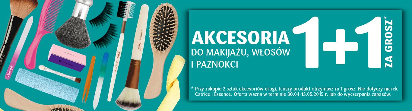 1 + 1 za GROSZ - akcesoria do makijażu, włosów i paznokci @ Natura