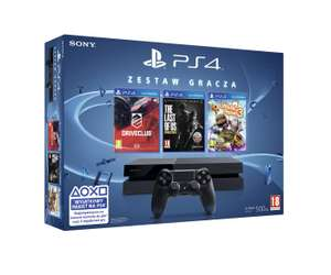 PlayStation 4 500GB + Driveclub + Little Big Planet 3 + The Last of Us (DARMOWA DOSTAWA) @ Komputronik