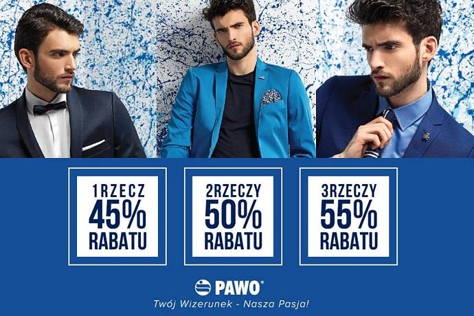 Do 55% rabatu na zakupy @ Pawo
