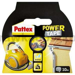 Taśma PATTEX POWER TAPE SILVER 10m