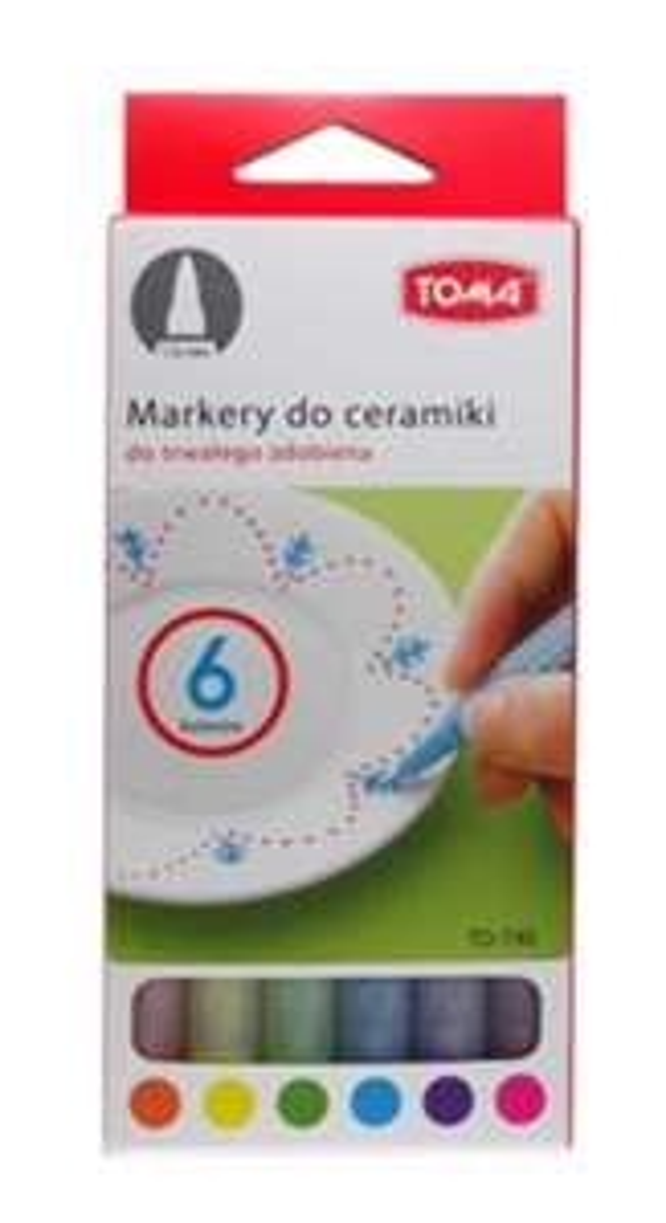Markery do ceramiki Toma za 9,97zł (6szt.) @ Komfort