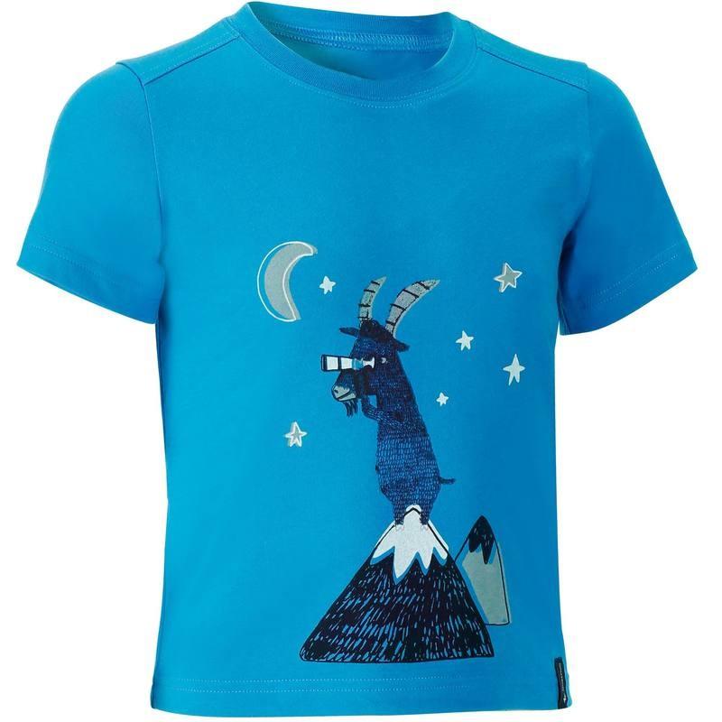HIKE 500 QUECHUA T-shirt koszulka turystyczna dla chłopców