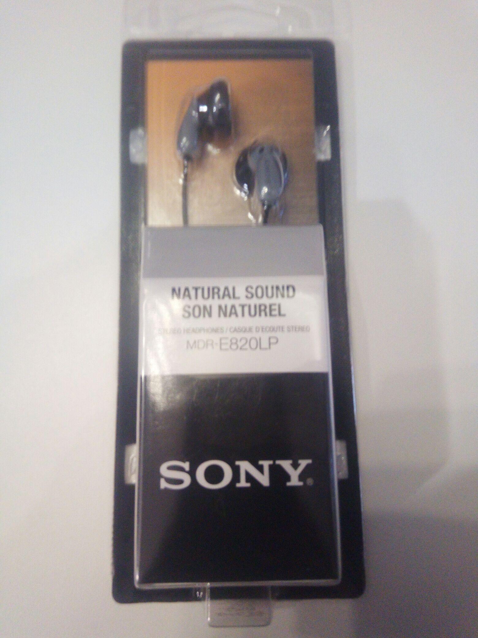 Biedronka - Słuchawki Sony MDR-E820LP