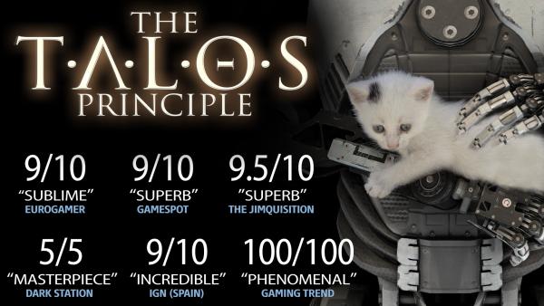 Steam -The Talos Principle i dodatki -80% (-85% na gold edition)