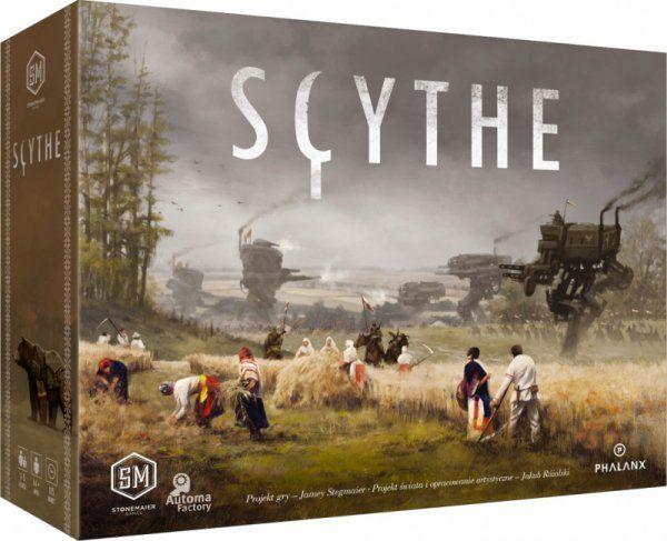 Scythe - gra planszowa, przedsprzedaż dodruku.
