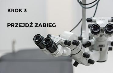Zabieg korekcji wzroku metodą LASEK - dwoje oczu