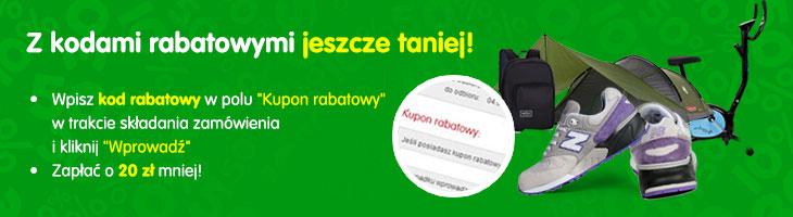 Kody rabatowe 20,50,100 zł taniej @Mall.pl