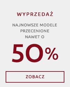 Wojas - wyprzedaż do - 50%