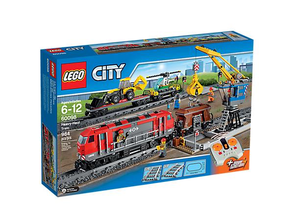 Lego City 60098 Pociąg towarowy