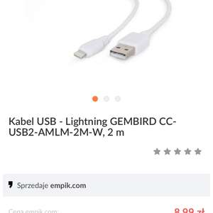 Kabel lightning iphone ipad 2metry @empik.com