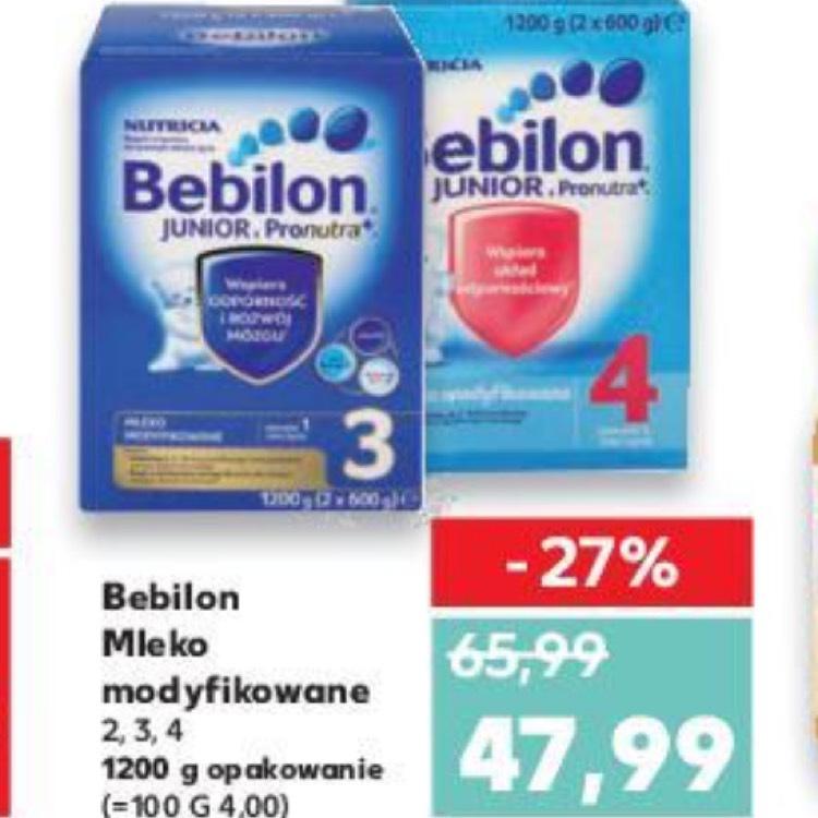 Mleko modyfikowane Bebilon - Kaufland
