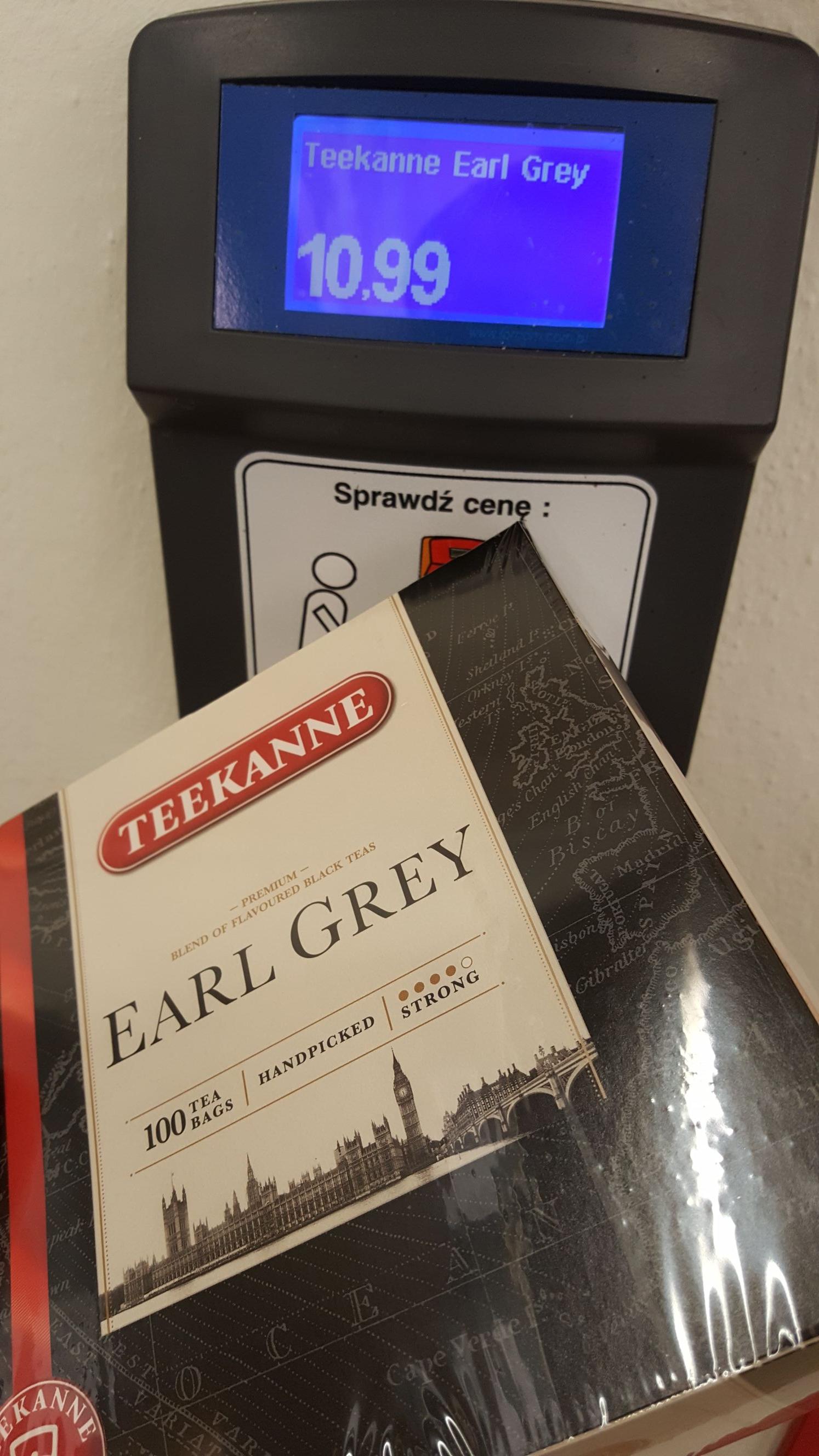 Teekanne Earl Grey 100 torebek - 165 g [Lidl]
