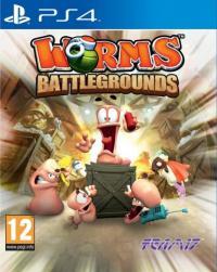 WORMS BATTLEGROUNDS (GRA PS4)