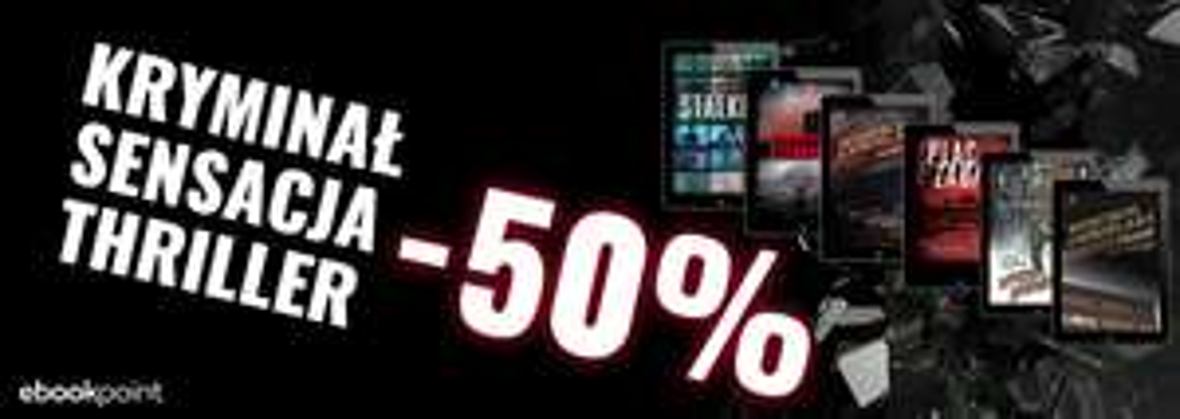 Ebooki wyd. Czarne. Kryminał, sensacja, thriller 50% taniej @ ebookpoint