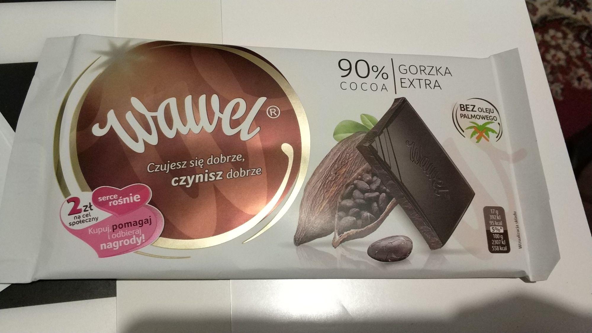 Czekolada gorzka Wawel 90% kakao @ Biedronka