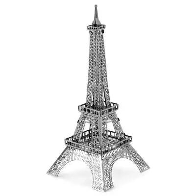 Wieża Eiffla do składania, metalowe puzzle 3D