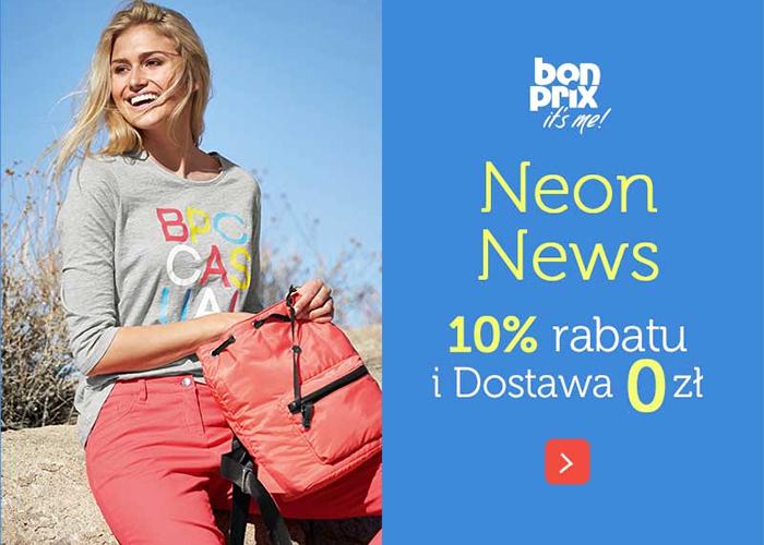 Cashback na 25zł i 10% rabatu na zakupy w Bonprix + Darmowa dostawa (od 60zł)