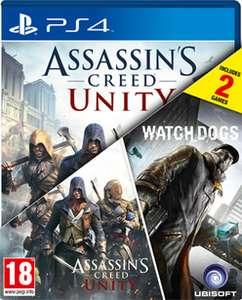 Assassin's Creed: Unity + WatchDogs (PS4, XONE, PC) za ok. 155zł @ GAME