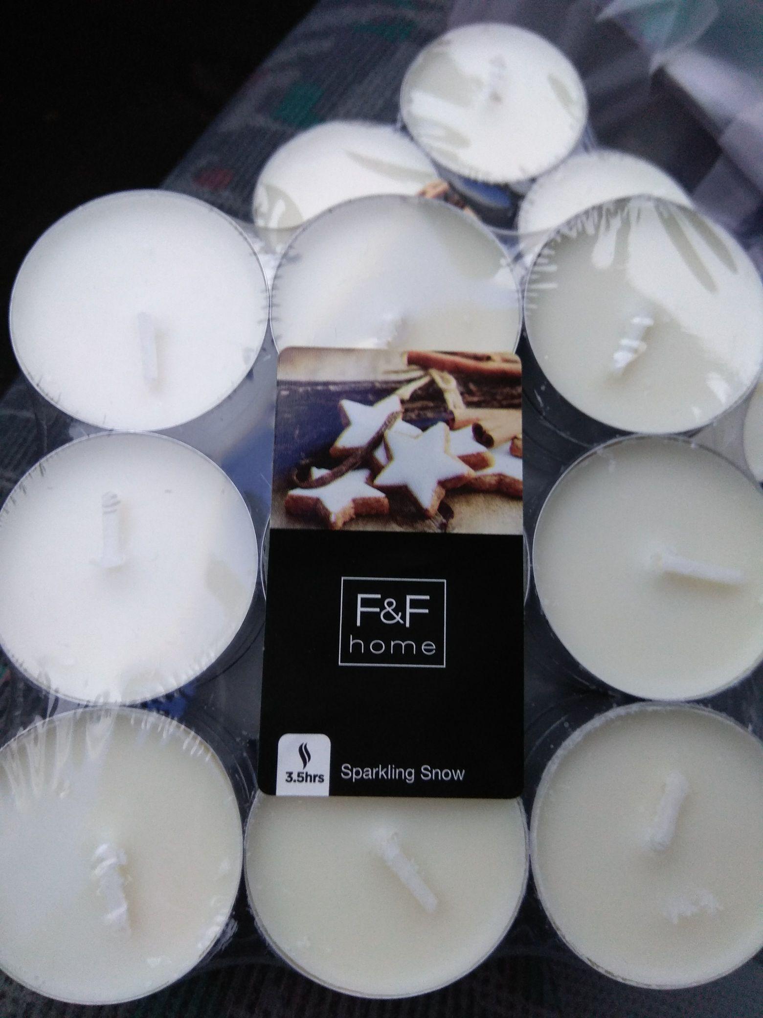 Świeczki za 1.99zł 27szt. zapachowe