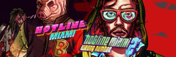 Hotline Miami 1 + 2 Combo Pack Steam (oferta weekendowa)