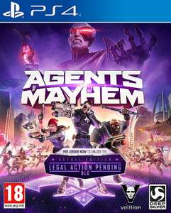 Agents of Mayhem [PL] Day One Edition + DLC (PS4) #blackgames.pl