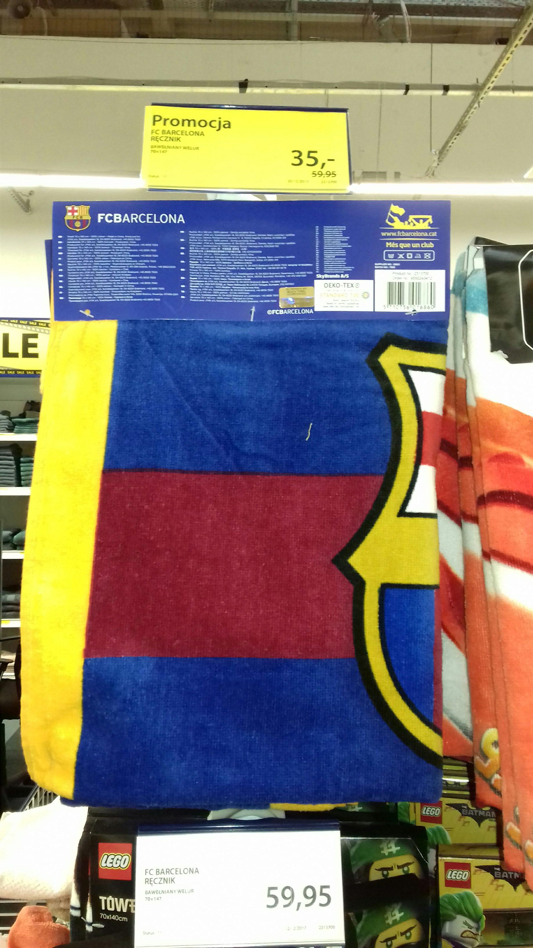 Ręcznik i posciel FC Barcelona Jysk
