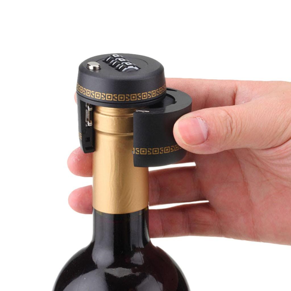 """""""Kłódka"""" na wino (3-cyfrowa kombinacja) @ Zapals"""