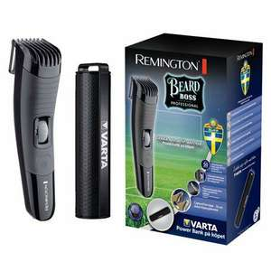 Trymer Remington MB4130GP + Power bank VARTA 2600 mAh