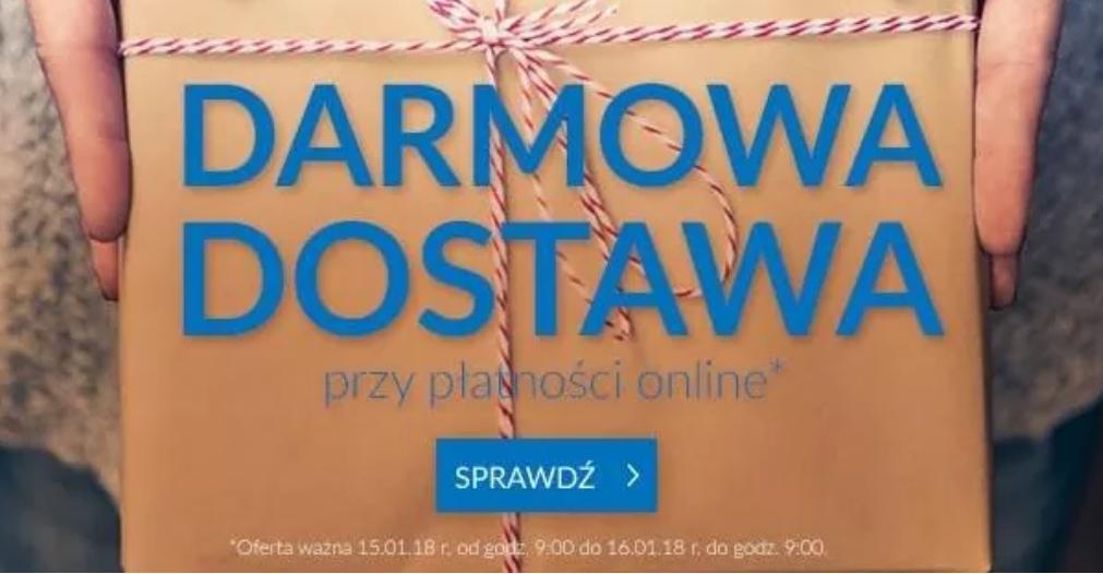 Darmowa dostawa przy przedpłacie do 16.01 do godziny 9:00 @livro.pl