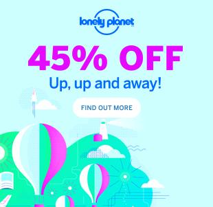 Przewodniki Lonely Planet -45%