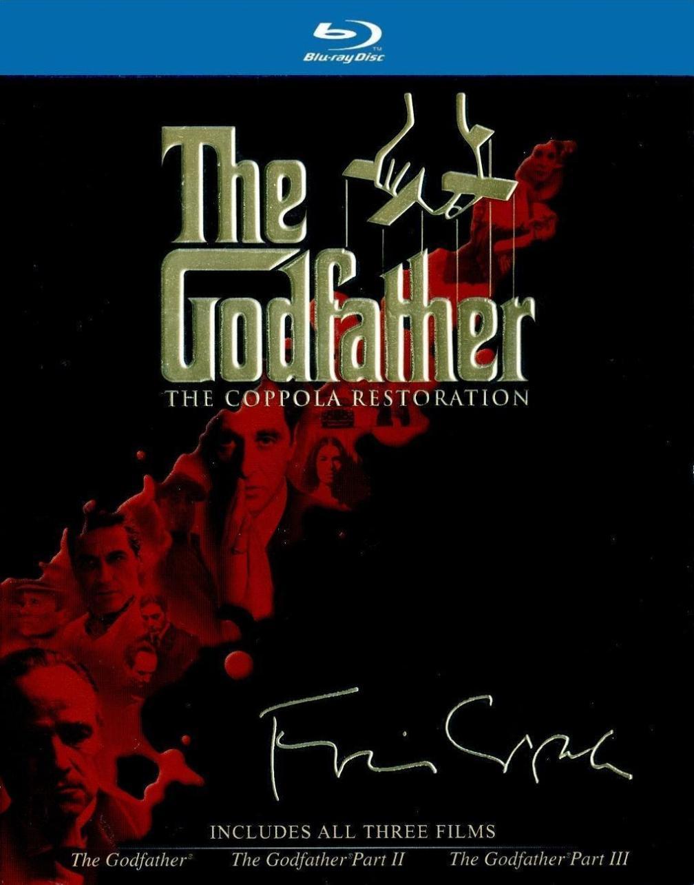 Trylogia Ojca Chrzestnego (4x Blu-ray) ENG