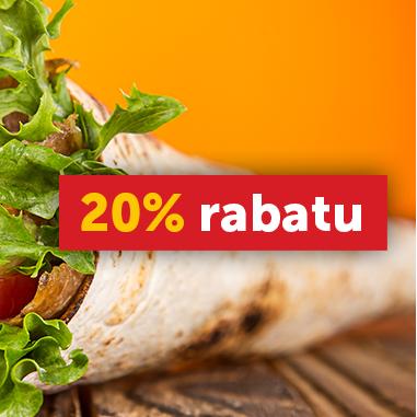 #Pizzaportal: Kod rabatowy na wtorek/środę (dodatkowo 10/20)