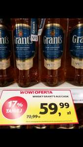 Whisky Grant's Ale Cask Finish 1l Tesco